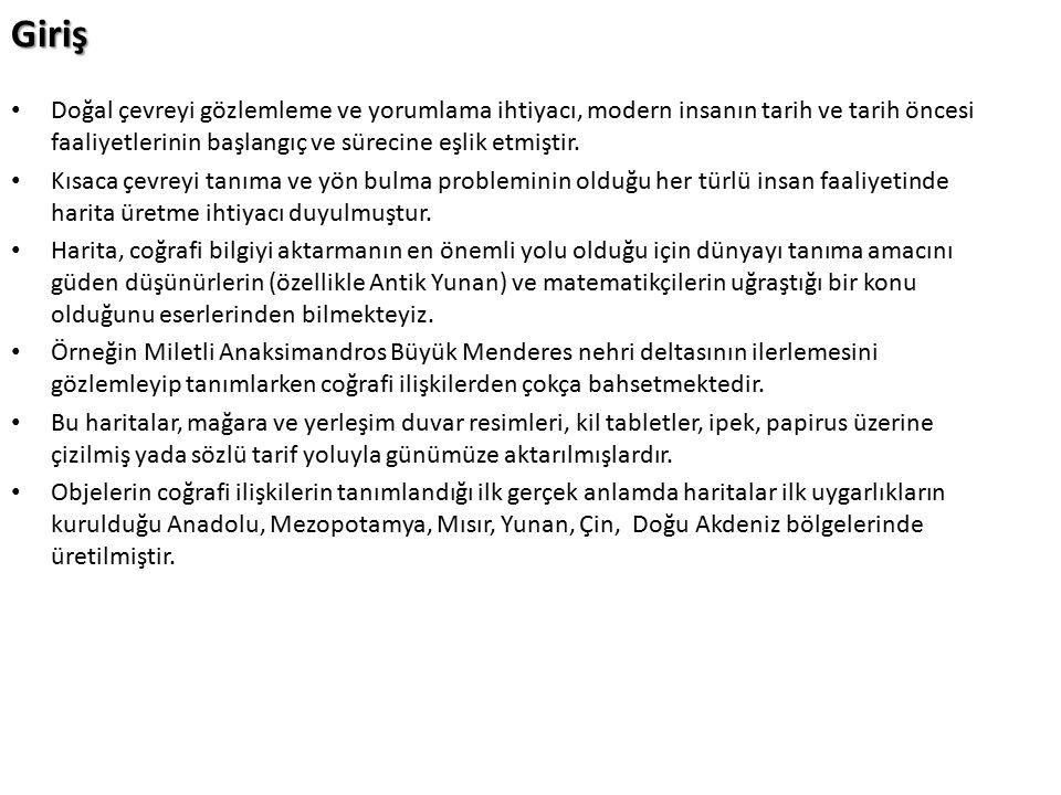 Kitab-ı Bahariye (1521) Kitab-ı Bahriye, Türklerin coğrafya alanında oluşturduğu eserlerin en mükemmelidir.