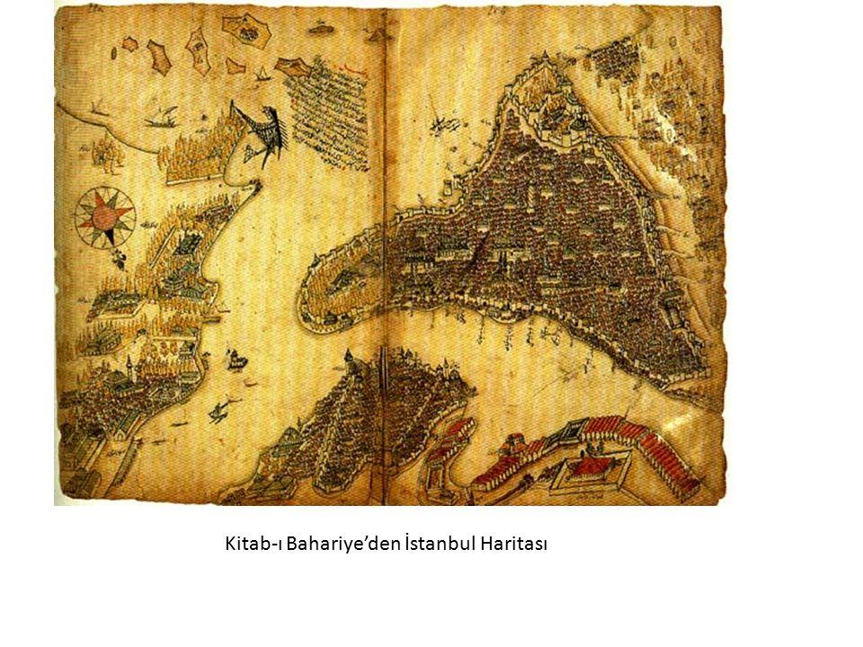 Kitab-ı Bahariye'den İstanbul Haritası