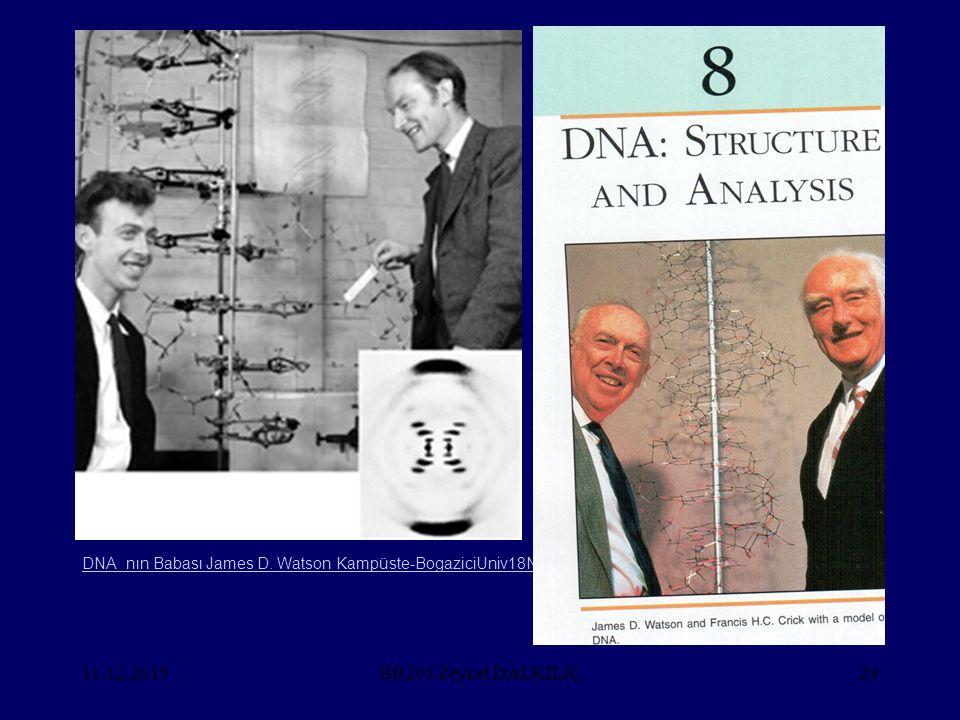 11.12.201529 DNA_nın Babası James D. Watson Kampüste-BogaziciUniv18Nisan2011 BB203 Zeynel DALKILIÇ