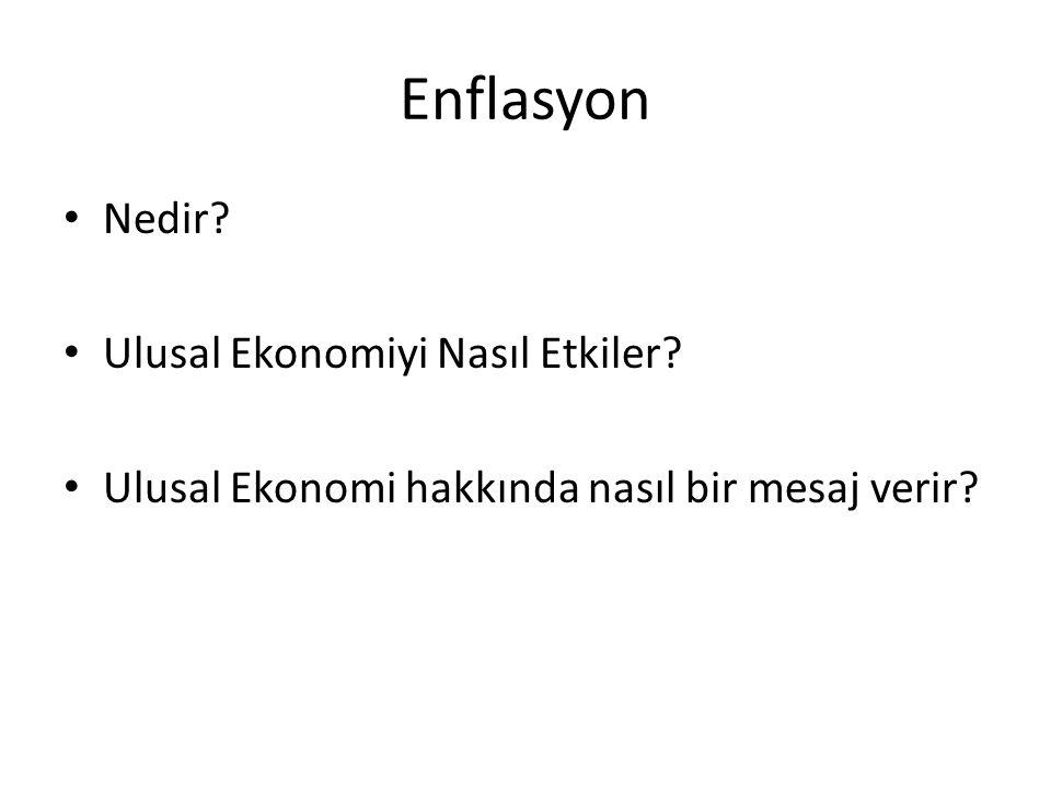İstihdam Nedir? Ulusal Ekonomiyi Nasıl Etkiler? Ulusal Ekonomi hakkında nasıl bir mesaj verir?