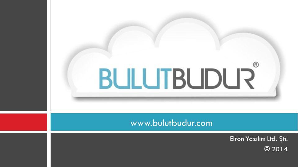 Elron Yazılım Ltd. Şti. © 2014 www.bulutbudur.com