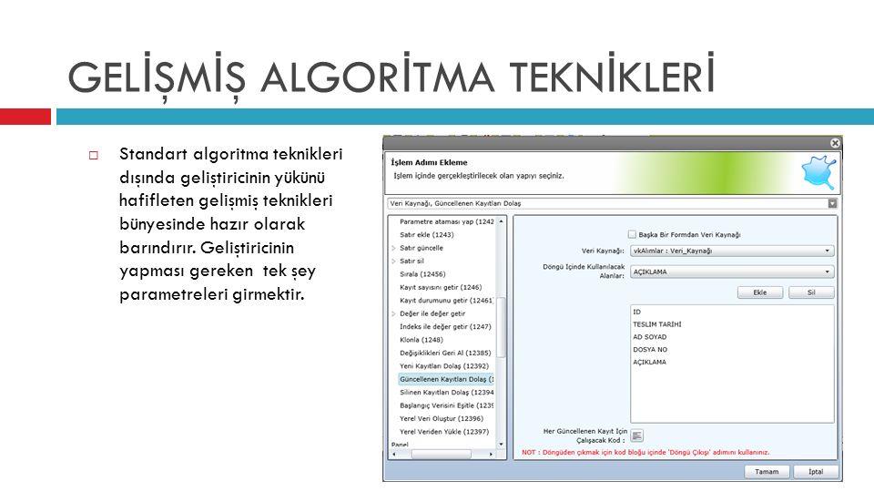 KUSURSUZ KULLANICI DENEY İ M İ  Geliştirilen uygulamalar son derece şık ve etkin bir biçimde son kullanıcıya sunulur.
