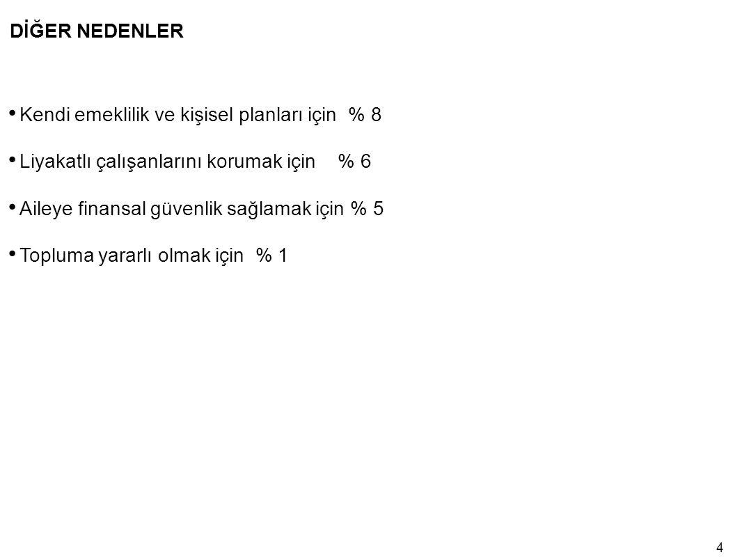 45 TÜRKİYE'NİN EN ESKİ 50 AİLE ŞİRKETLERİNDEN BAZILARI Kaynak: © Haluk Alacaklıoğlu: Global Family Business Consultants;20037