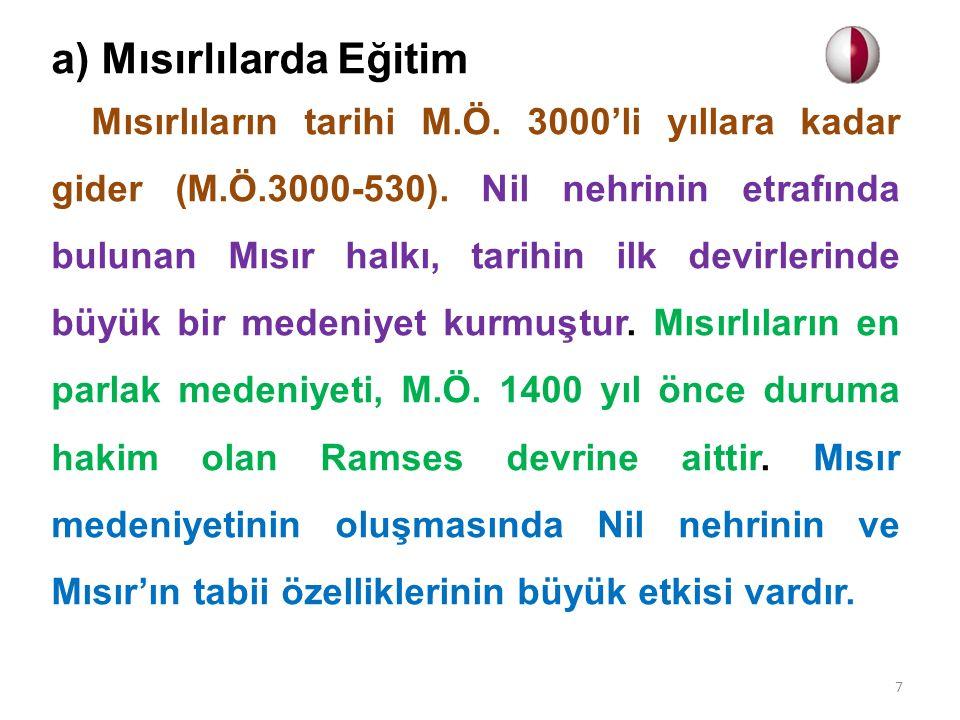 Türkiye Cumhuriyeti'nde Eğitim Tevhid-i Tedrisat Kanunu çıktıktan sonra eğitim- öğretim kurumlarında önemli yapısal değişikliklere gidilmiştir.