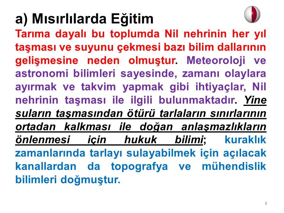 a) Hümanizm Dönemi ve Eğitim Rönesans'tan ayrı düşünülemeyen düşünce akımı Hümanizm dir.