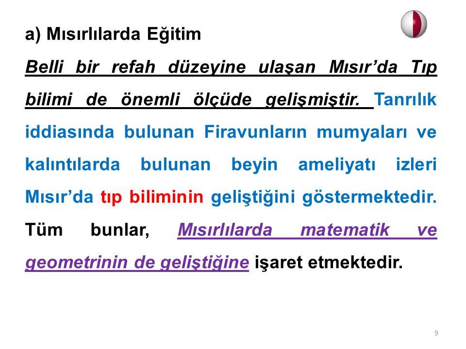 e) İdadiler Orta öğretimde ikinci kademe olarak eğitim- öğretim veren mekteplerdir.