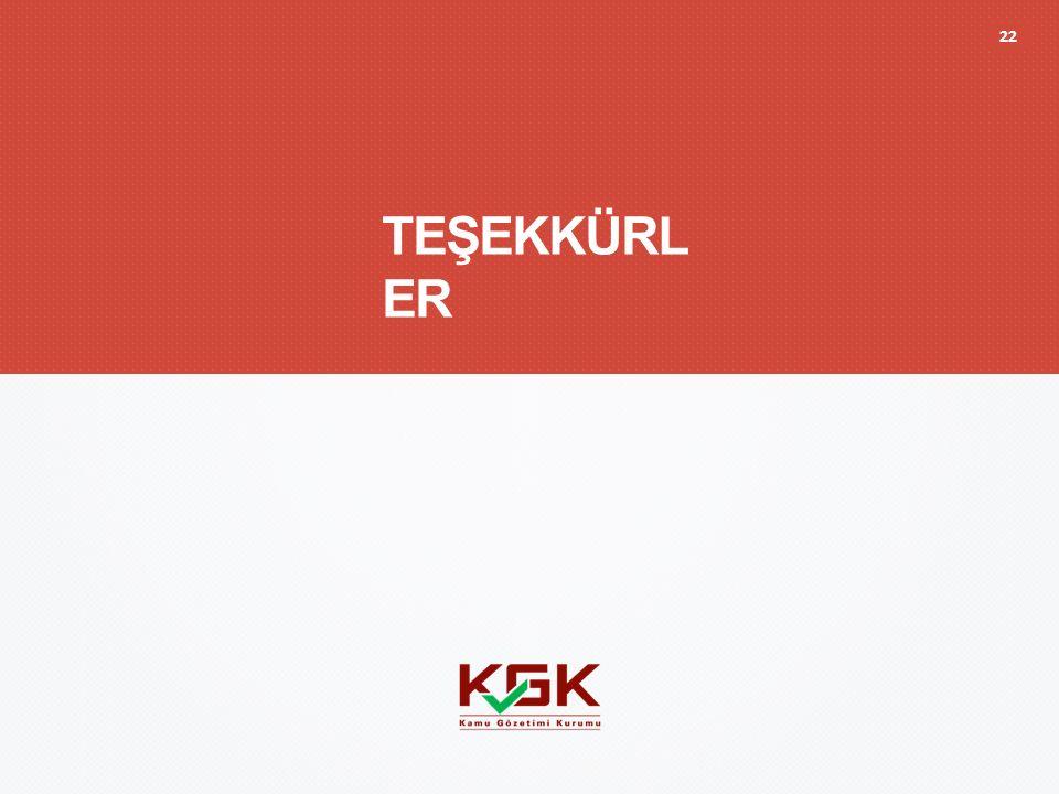 TEŞEKKÜRL ER 22