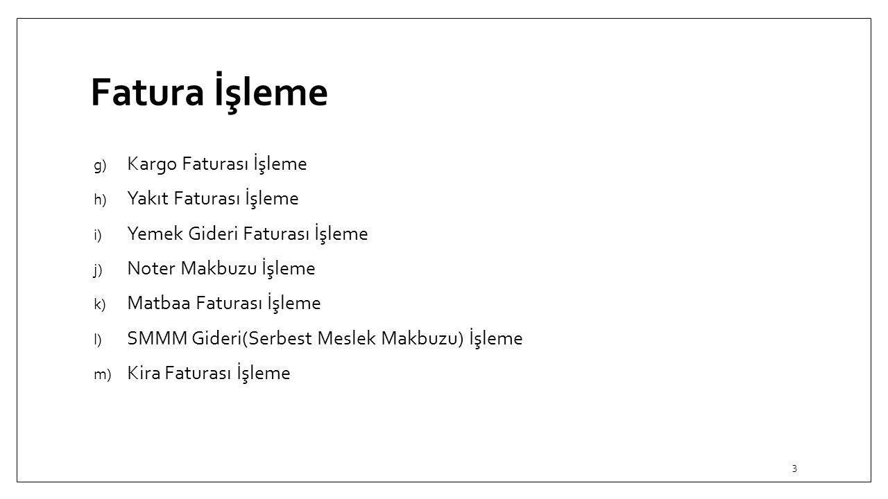 Gider Faturası İşleme a) Türk Telekom Faturası İşleme Türk Telekom Faturası işletme için gider niteliğindedir.