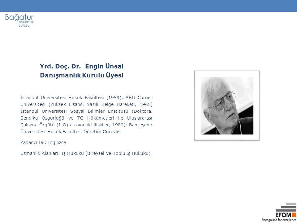 İstanbul Üniversitesi Hukuk Fakültesi (1959); ABD Cornell Üniversitesi (Yüksek Lisans, Yazılı Belge Hareketi, 1965) İstanbul Üniversitesi Sosyal Bilim