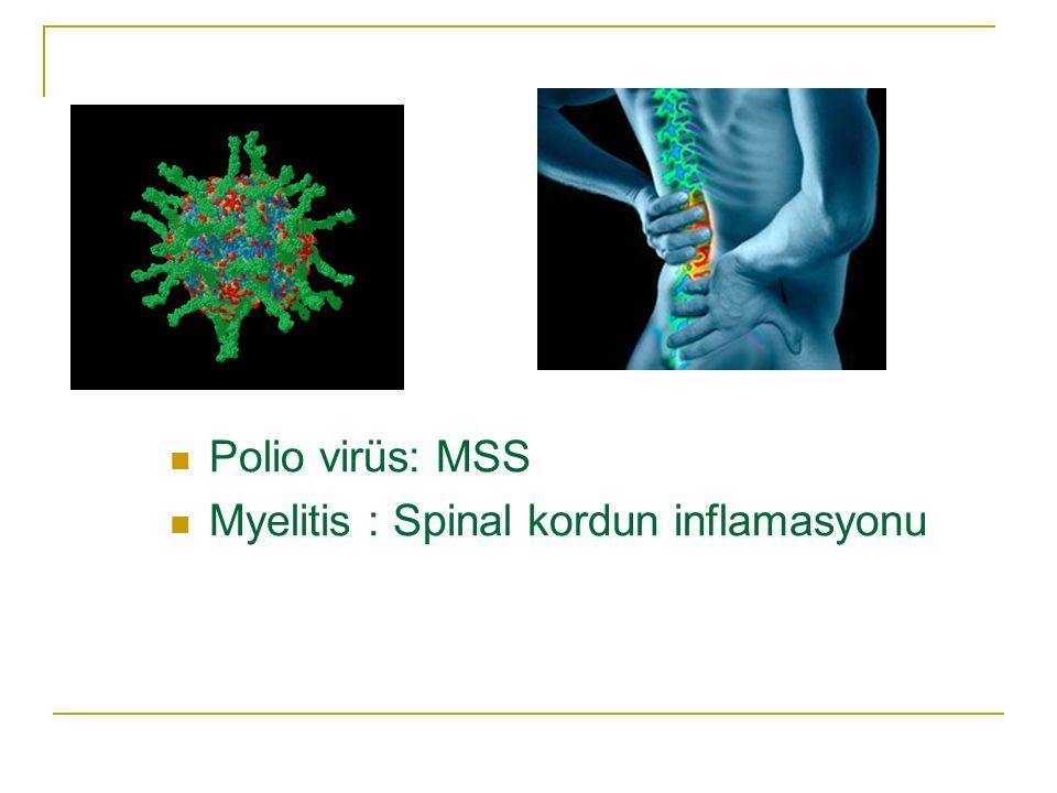 Görülebilecek Deformiteler Genu valgum Genu rekurvatum Pes ekinus Ekstremite kısalıkları Spinal deformiteler (skolyoz, kifoz)