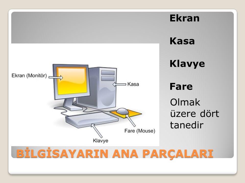 ÇEVRE BİRİMLERİ VE GÖREVLERİ FLASH BELLEK: Bilgisayarda kayıtlı bilgilerimizi başka bir bilgisayara taşımak için kullanılır.
