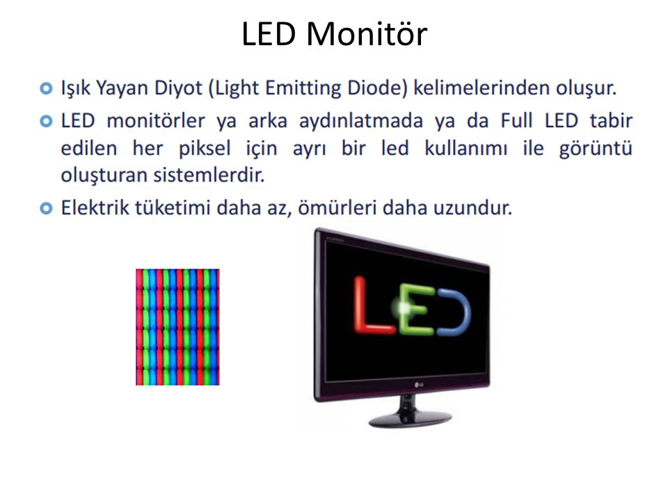 LED Monitör
