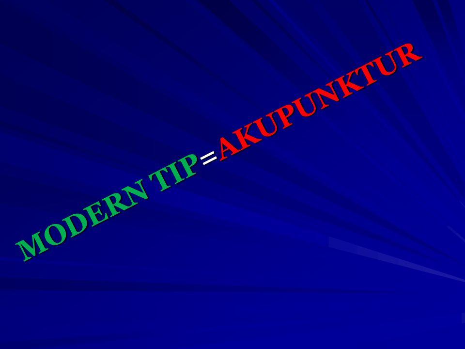 MODERN TIP=AKUPUNKTUR