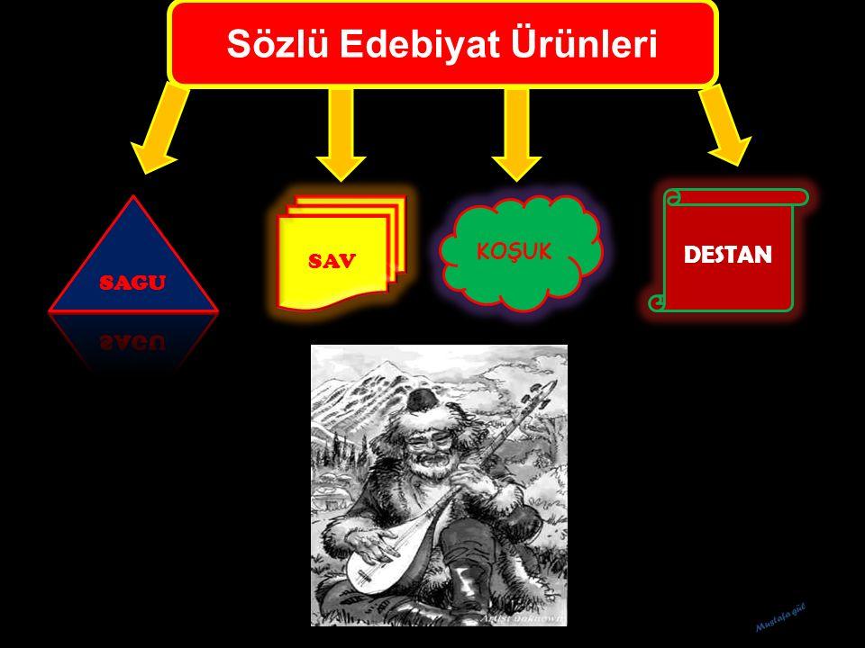 Sözlü Edebiyat Ürünleri SAV KOŞUK DESTAN Mustafa gül