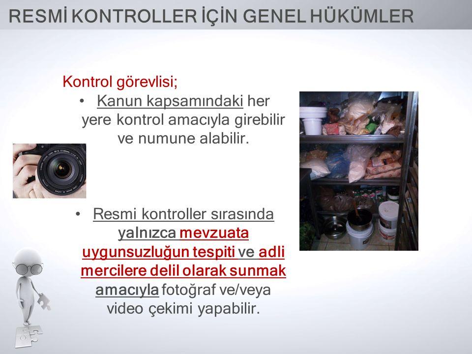 RESMİ KONTROLLER NE SIKLIKTA YAPILIR.