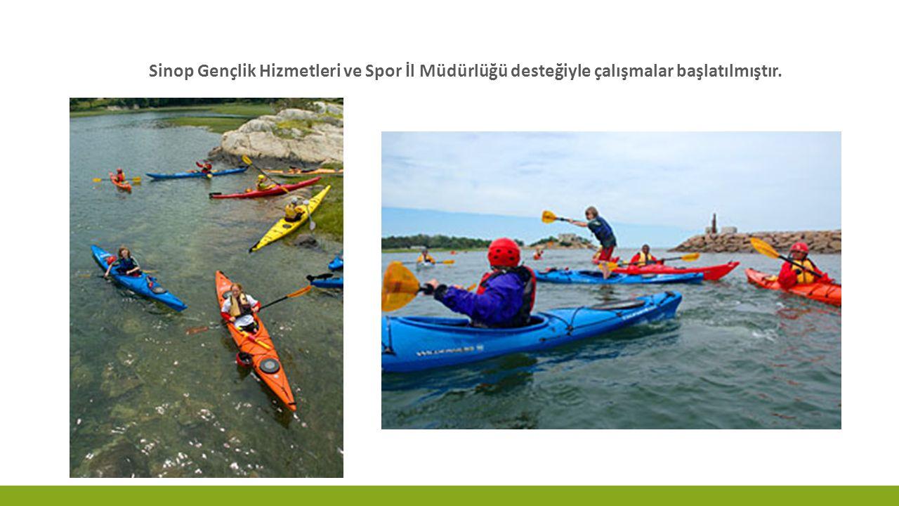 Sinop Gençlik Hizmetleri ve Spor İl Müdürlüğü desteğiyle çalışmalar başlatılmıştır.