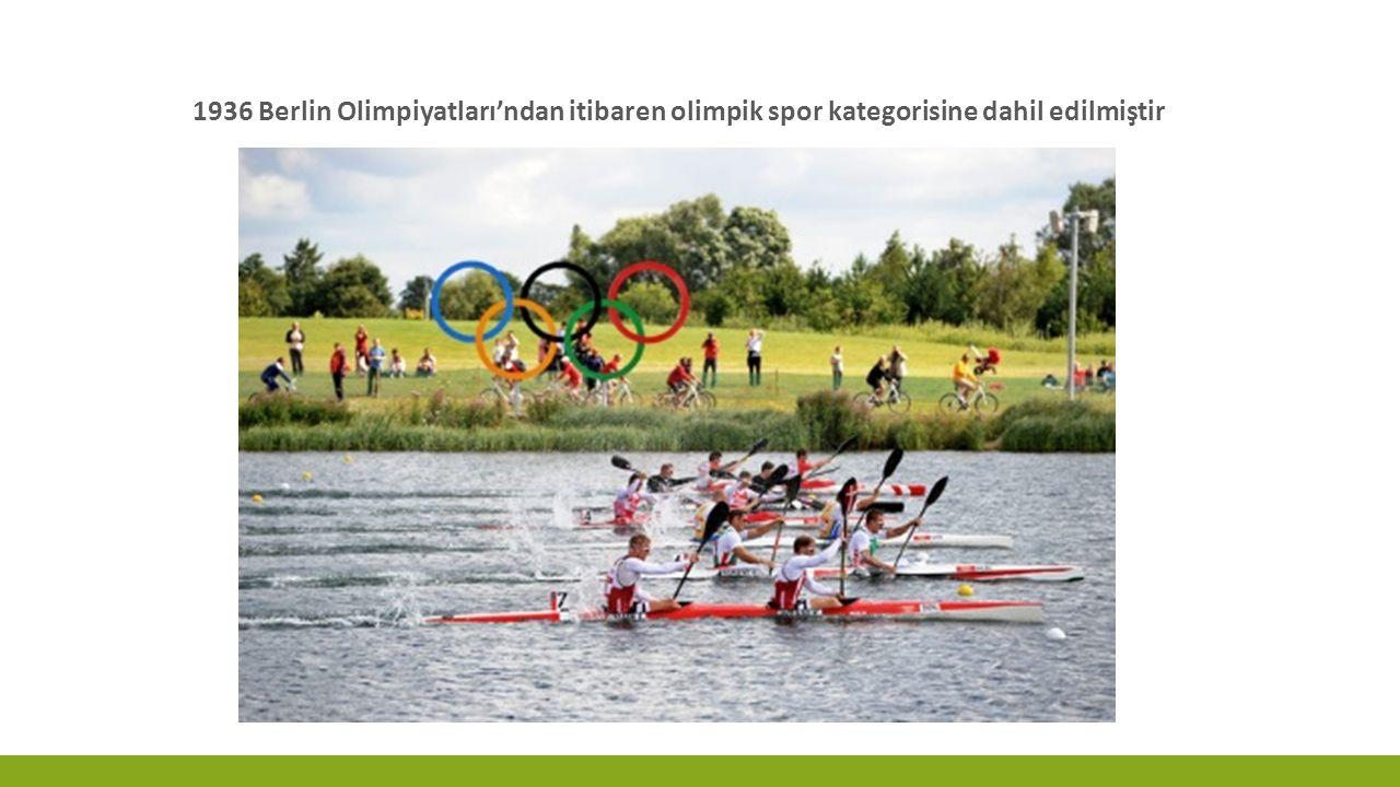 Olimpiyatlarda, atletizmden sonra en fazla madalya veren spor kanodur.