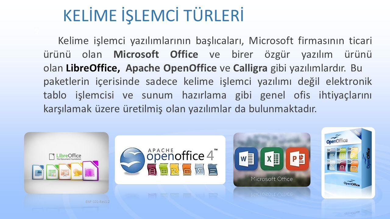Şerit, kelime işlemcinin 2007 sürümüyle güncellediği bir özelliktir.