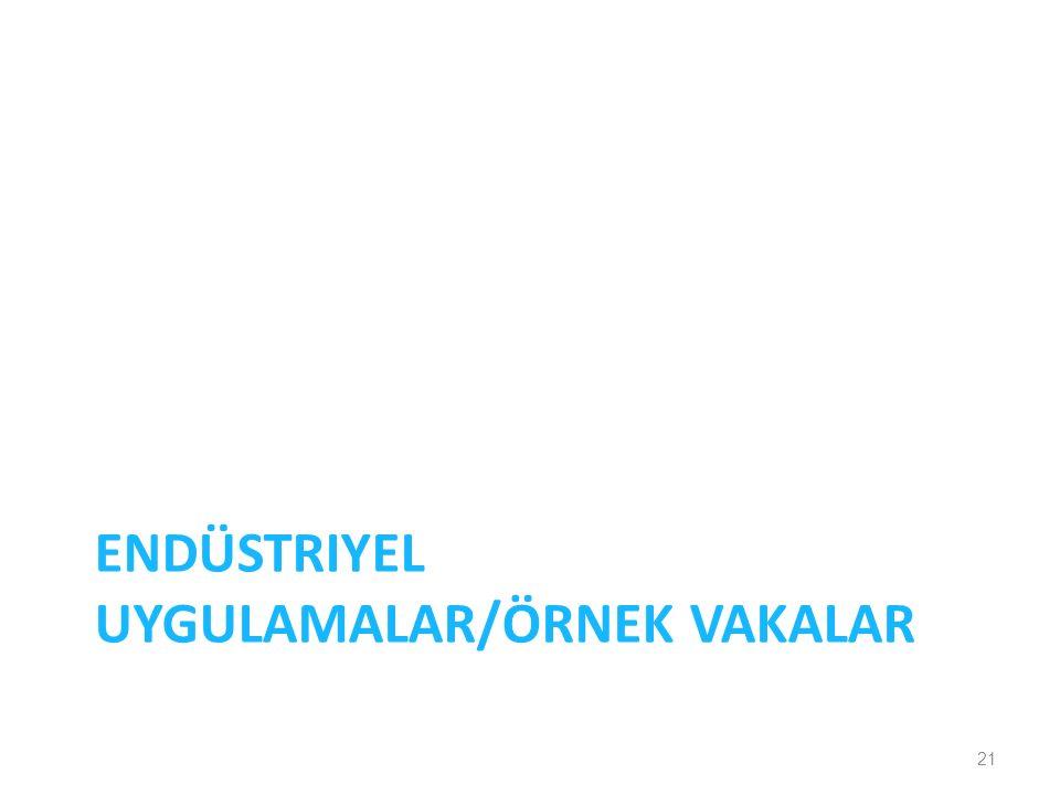 ENDÜSTRIYEL UYGULAMALAR/ÖRNEK VAKALAR 21