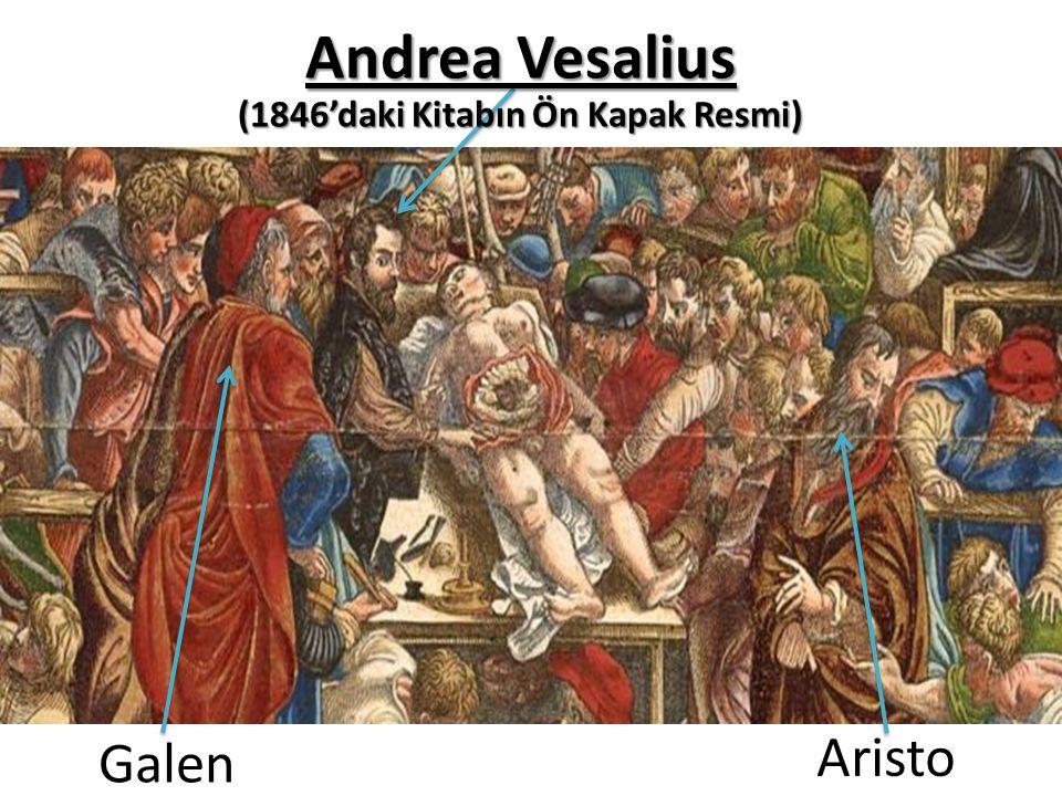 Galen Aristo Andrea Vesalius (1846'daki Kitabın Ön Kapak Resmi)