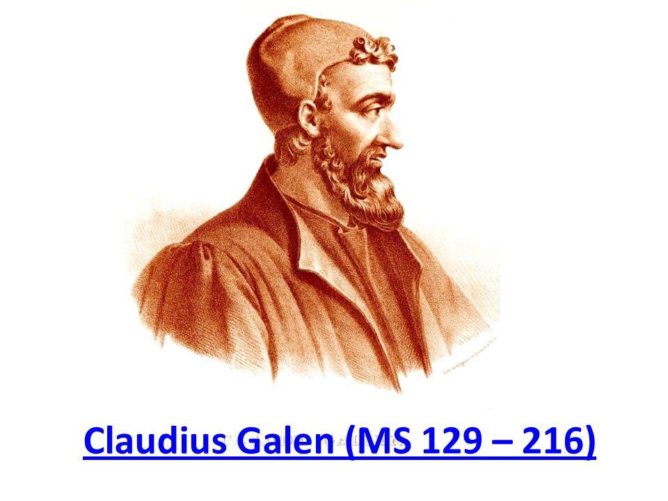 Claudius Galen (MS 129 – 216)