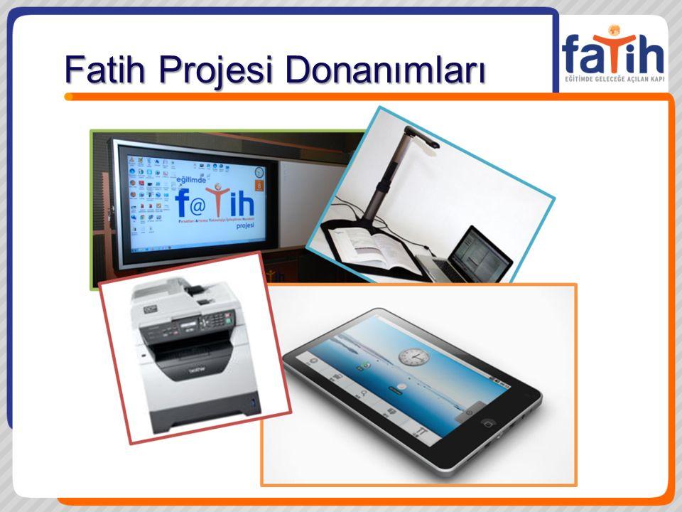 Fatih Projesi Donanımları