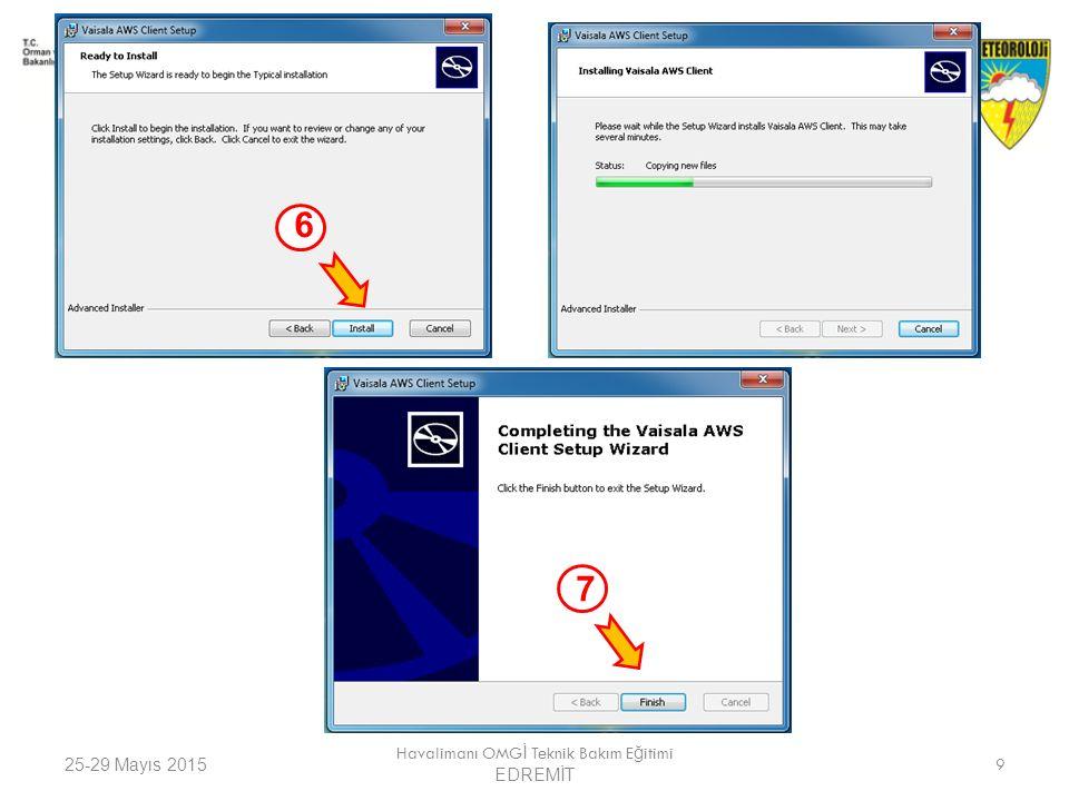 25-29 Mayıs 2015 Havalimanı OMG İ Teknik Bakım E ğ itimi EDREMİT 30 5- QML201 ile bağlantı sırasında Kullanılan Komutlar KomutKullanımıAçıklaması open QML201 komutların kullanımı için giriş sa ğ lar close QML201 iletişimini kapatır help QML201 içerisinde kullanılabilecek komutların listesini verir