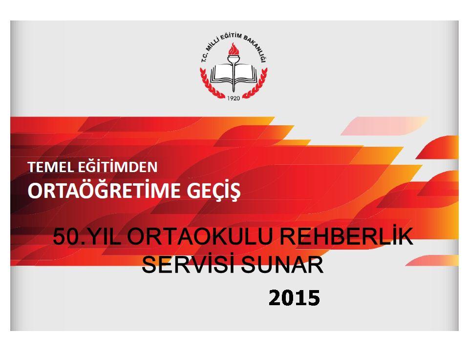 2 2015-2016 TEMEL EĞİTİMDEN ORTAÖĞRETİME GEÇİŞ (TEOG) 8.