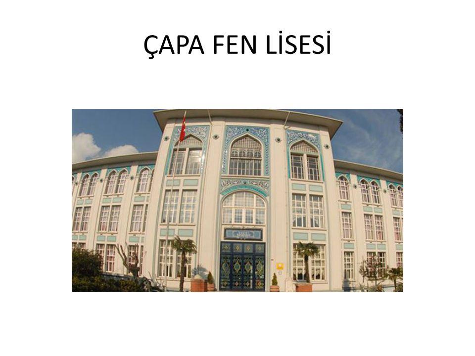 ÇAPA FEN LİSESİ
