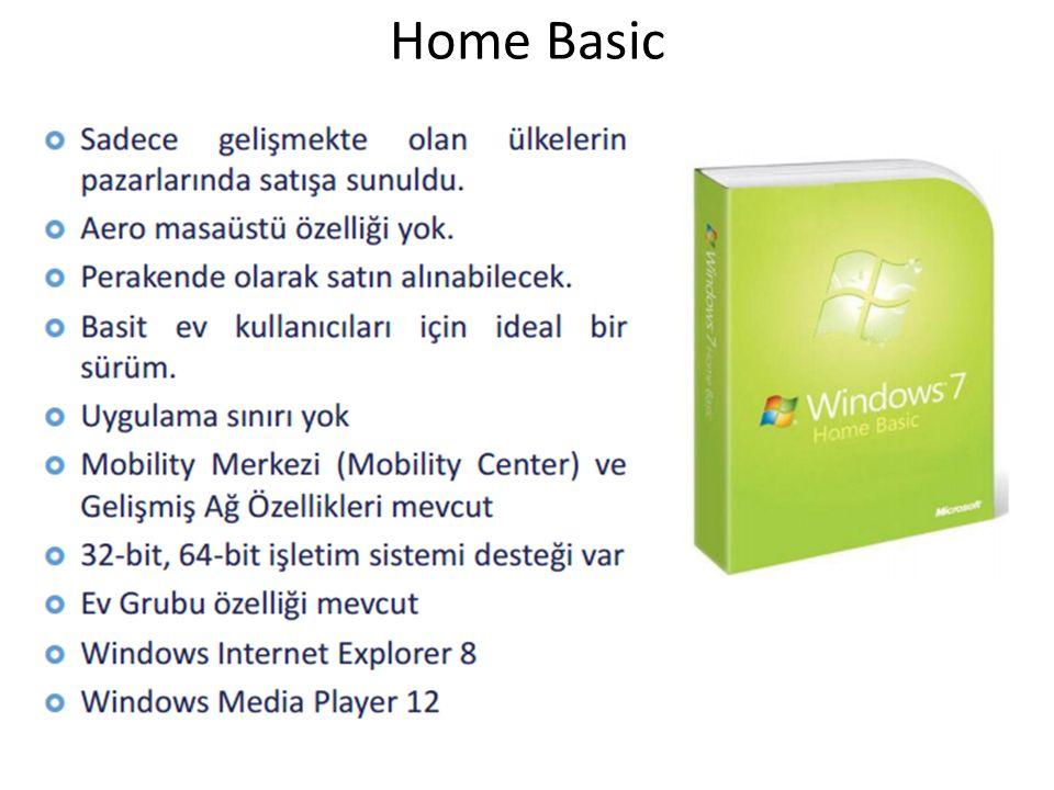 Görev Çubuğu-Sabitleme Windows 7 de sık kullanılan programları kolay erişim için görev çubuğunun herhangi bir yerine sabitleyebilirsiniz.