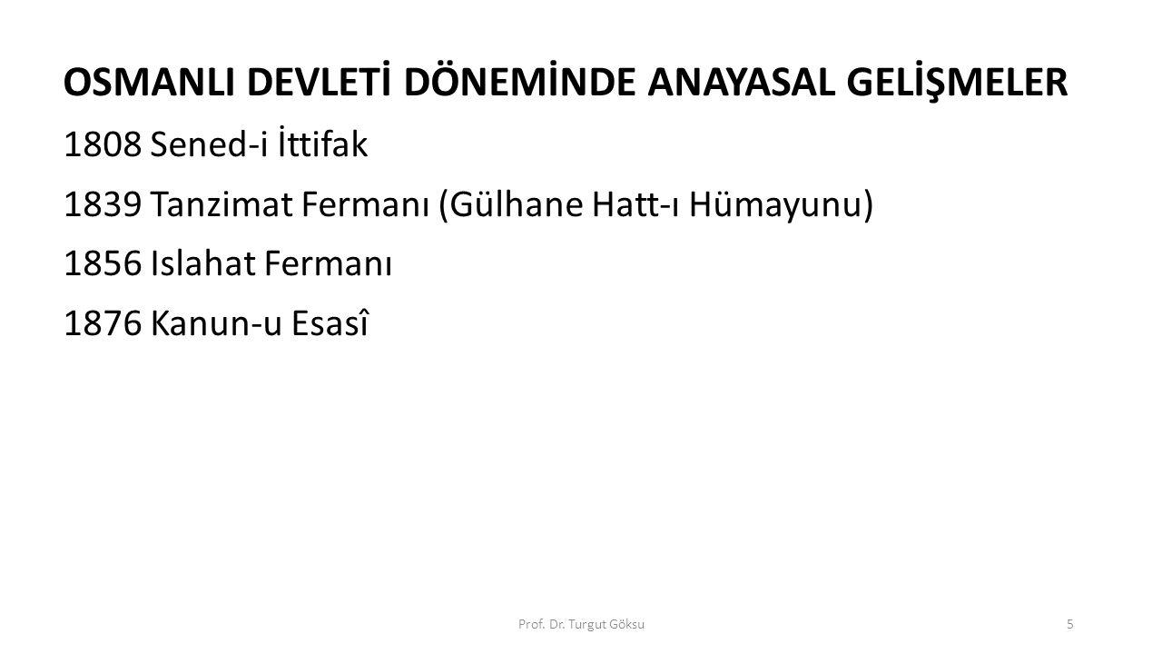 1808 Sened-i İttifak - Padişah: II.Mahmut Sadrazam: Alemdar Mustafa Paşa ; -Sebep: Merkezi otoriteyi taşraya yaymak.