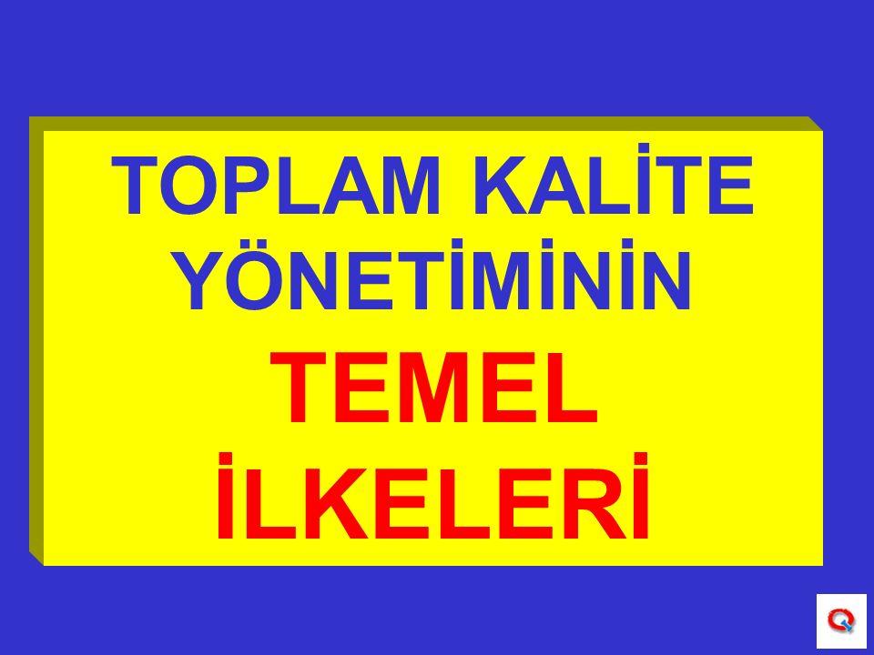 TOPLUMA ETKİ: Ürün ve hizmet kalitesiyle yaşam kalitesi arasında kurulan ilişkidir.