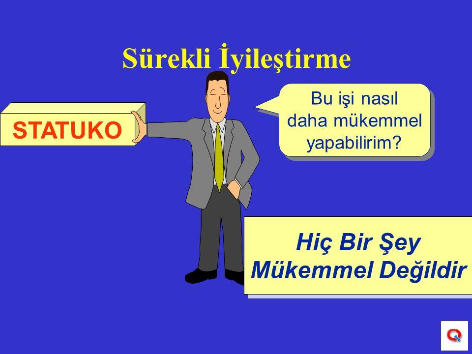 """SÜREKLİ İYİLEŞTİRME """" """"KAİZEN """""""