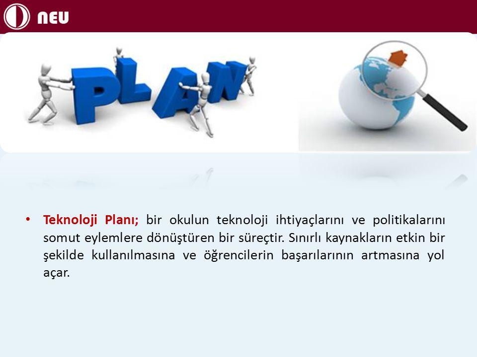 Teknoloji Planı; bir okulun teknoloji ihtiyaçlarını ve politikalarını somut eylemlere dönüştüren bir süreçtir.