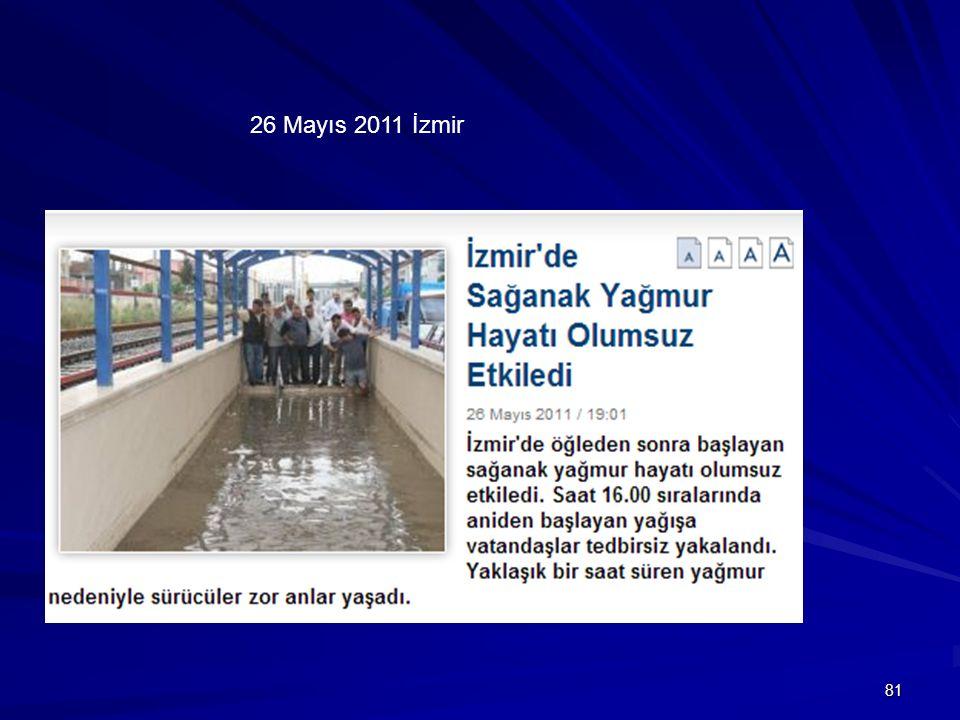 81 26 Mayıs 2011 İzmir