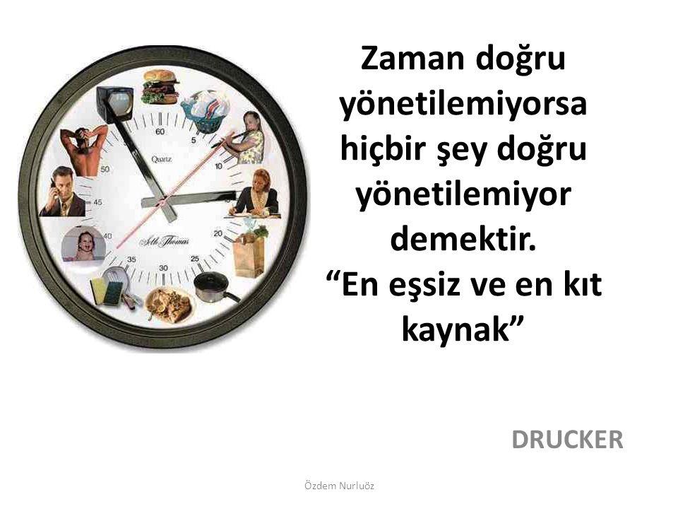Zaman kültürel ve psikolojik boyutları olan bir kavramdır.