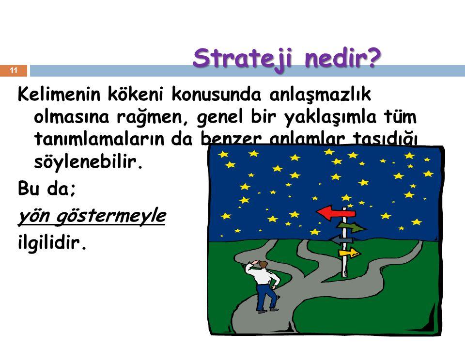 Strateji nedir. Strateji nedir.