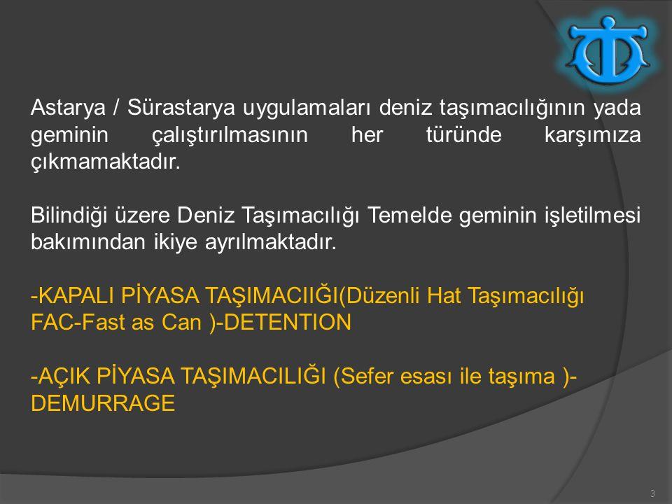 44 WPWD (WEATHER PERMITTING WORKING DAY-HAVA MÜSADELİ İŞ GÜNÜ) İngiliz hukuku açısından 1983 yılından önce uygulamada sık kullanılan ve armatör lehine olan aynı zamanda Türk hukuku ile paralellik taşıyan bir laytıme şartı idi.
