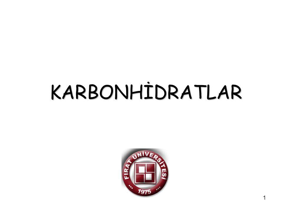 2 Karbonhidratlardaki fonksiyonel gruplar