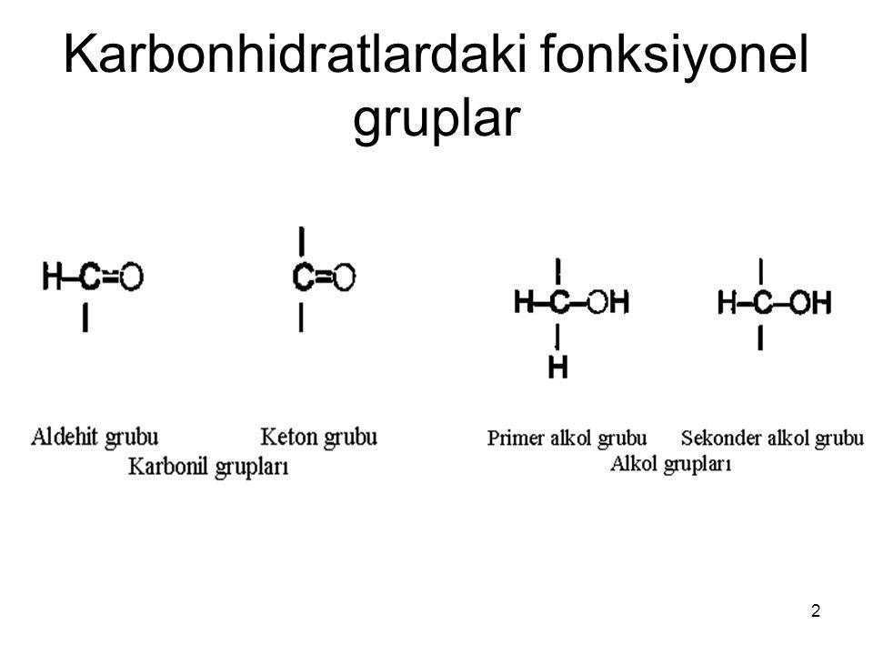 23 Karbonhidratların vücuda alınması Günde yaklaşık 300 g karbonhidrat nişasta (  160 g) sakkaroz (  120 g) laktoz (  30 g) glukoz ile fruktoz (  10 g)