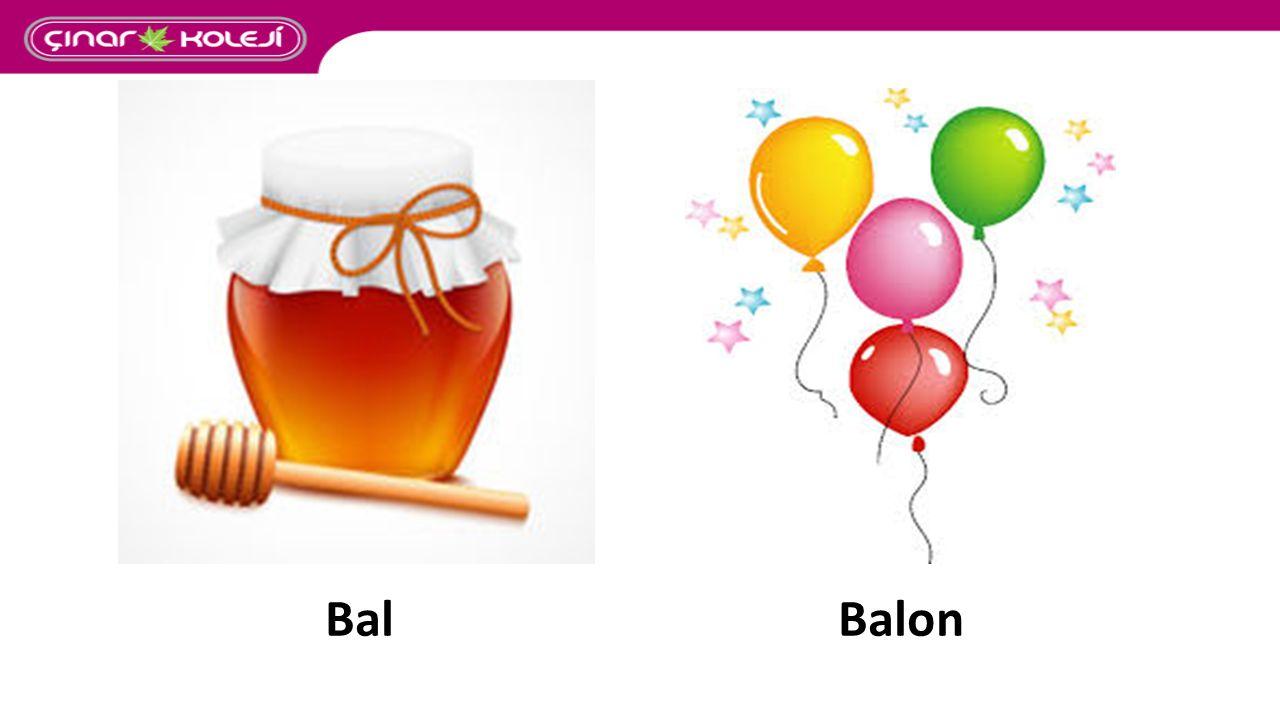 Balon - cu : Türemiş sözcük isim kök yapım eki