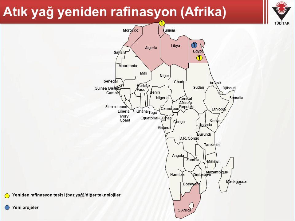 TÜBİTAK S.Africa Egypt Equatorial-Guinea Libya Tunisia Algeria Morocco Sahara Mauritania Senegal Gambia Guinea-Bissau Sierra Leone Liberia Sudan Eritr