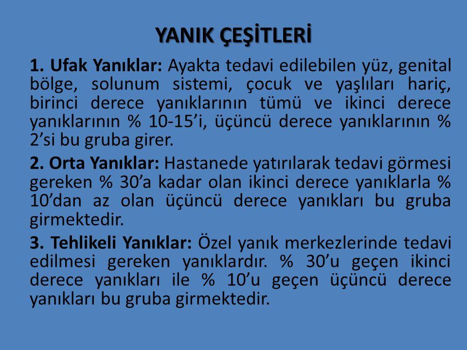 YANIK ÇEŞİTLERİ 1.
