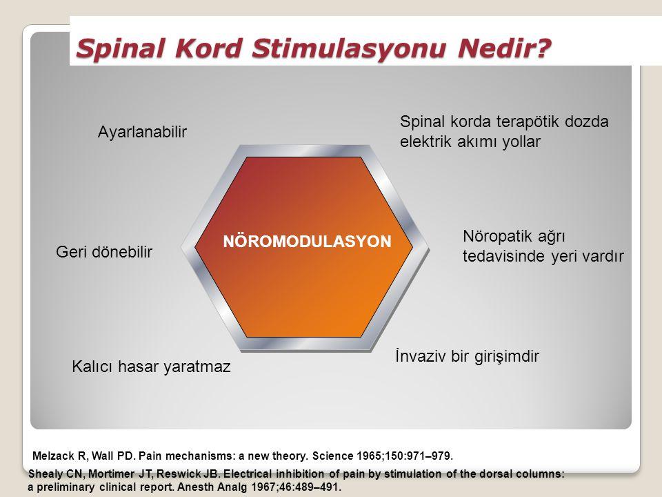 Spinal Kord Stimulasyonu Nedir.Melzack R, Wall PD.