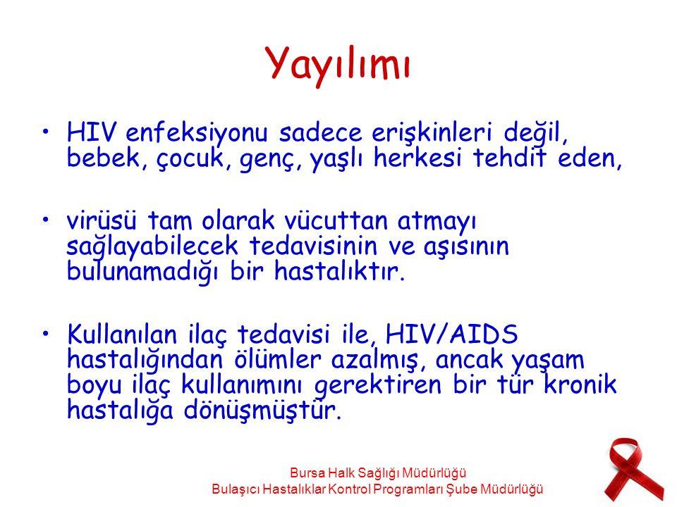 Yayılımı HIV enfeksiyonu sadece erişkinleri değil, bebek, çocuk, genç, yaşlı herkesi tehdit eden, virüsü tam olarak vücuttan atmayı sağlayabilecek ted