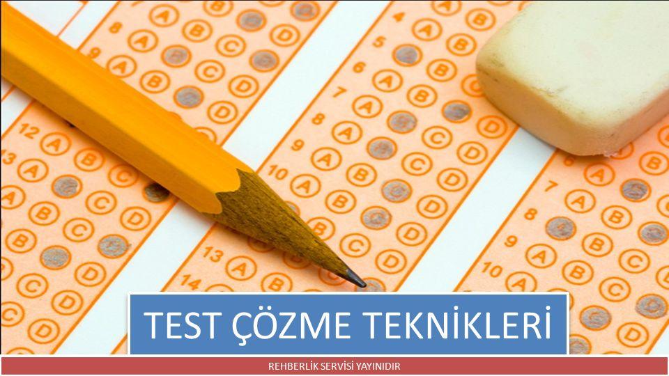 Sınavı, kesinlikle süre dolmadan terk etmeyin.Son dakikaya kadar süreyi kullanın.