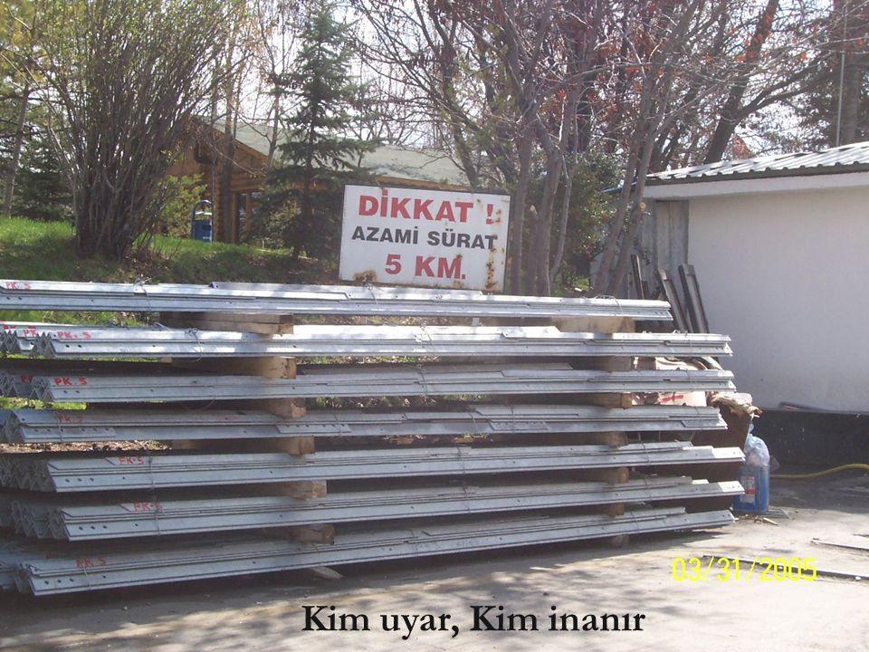 18 Hikmet Nurhan PARLAK Elektrik Mühendisi 9926 Ne kadar güvendeler, Önce söylenmesi gerekenler kazalardan sonra söylenmiyor mu ?