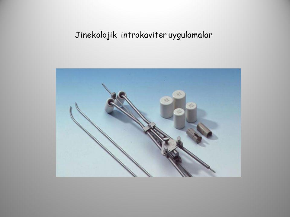 Jinekolojik intrakaviter uygulamalar