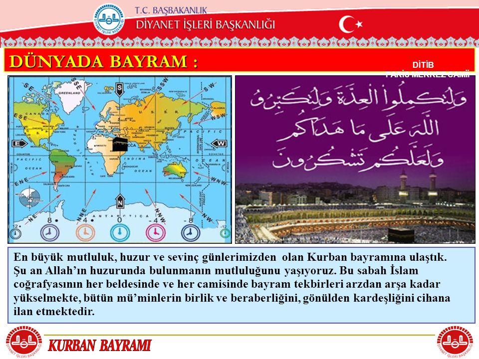 T.C.KÖYCEĞİZ MÜFTÜLÜĞÜ BAYRAM NAMAZININ 2. REKATI BAYRAM NAMAZININ 2.