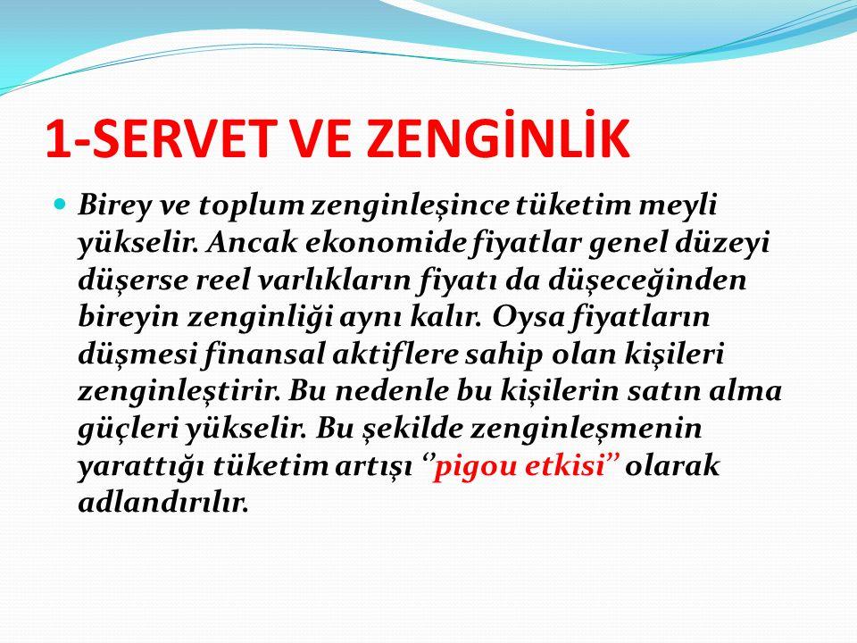 SERVET VE ZENGİNLİK